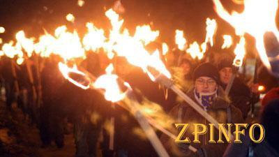 Запорожцы выйдут на факельное шествие