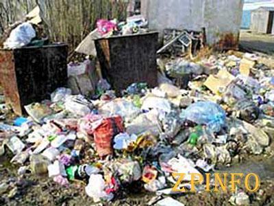 Запорожью грозит мусорная катастрофа