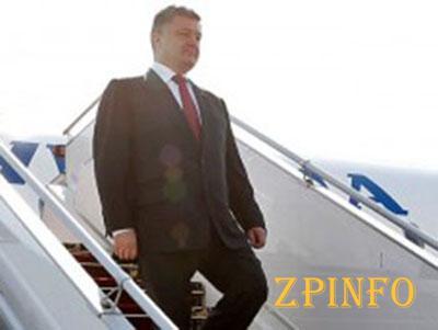Завтра в Запорожье приедет Порошенко
