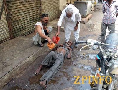 Жертвами жары в Пакистане стало 830 человек (Видео)