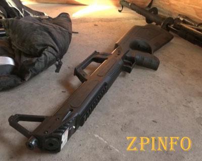 Житель Запорожья выстрелил в полицейского из винтовки