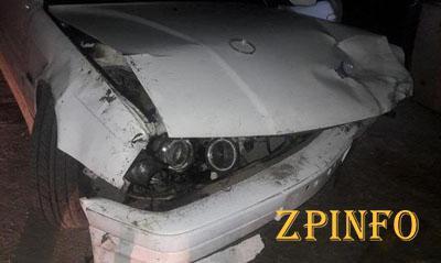 Жителю Запорожья вместо ремонта разбили BMW