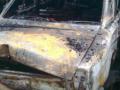 В Запорожье сгорел гараж вместе с автомобилем