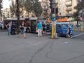 В Запорожье в аварию попал новый городской автобус