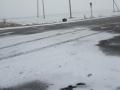 В Запорожской области начался снегопад