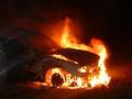 В Запорожской области ночью подожгли автомобиль