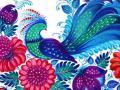 Запорожцев зовут на выставку петриковской росписи